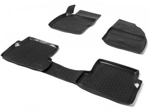 Коврики салона AutoFlex 4 штуки на Lada Priora/ВАЗ 2110/2111/2112 № 99060003001