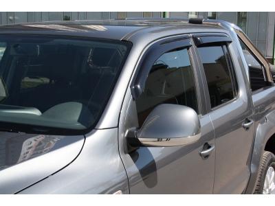 Дефлекторы окон EGR темные 2 штуки для Volkswagen Amarok 2010-2019