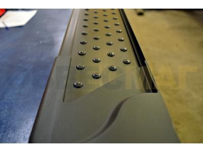 Пороги алюминиевые ALMOND V3 для Suzuki Grand Vitara 3 двери