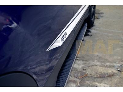 Пороги алюминиевые MAYA для Suzuki Grand Vitara 3 двери