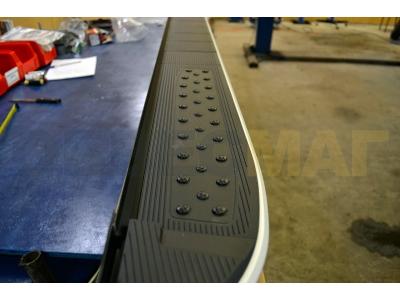 Пороги алюминиевые TAYGA V2 для Suzuki Grand Vitara 3 двери