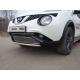 Накладка решетки радиатора нижняя для Nissan Juke