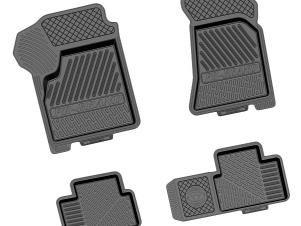 Коврики салона Rezkon Brand резиновые 4 штуки для Lada Priora № 1039025200