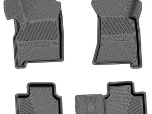 Коврики салона Rezkon Comfort резиновые 4 штуки для Lada Priora № 1039025300