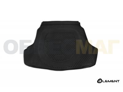 Коврик в багажник Autofamily полиуретан на седан для Hyundai Sonata