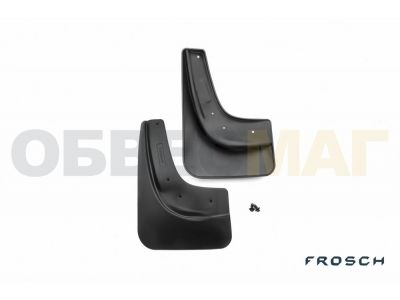 Брызговики задние 2 штуки Frosch для Ford Focus 2 2005-2011