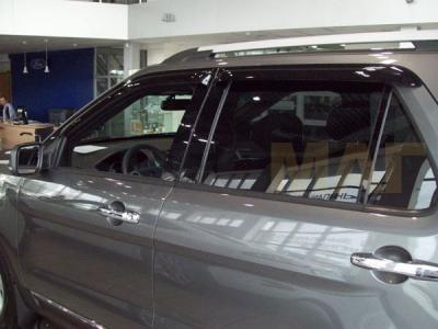 Дефлекторы боковых окон SIM 4 штуки для Ford Explorer 2011-2019