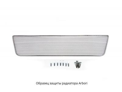 Защита радиатора Arbori черная сота 15 мм для Geely Atlas