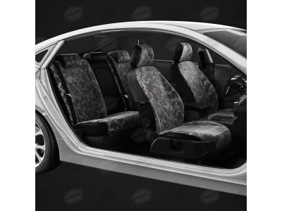 Чехлы брезент НАТО вариант 1 АвтоЛидер для Audi Q5 2008-2016