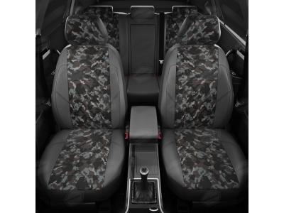 Чехлы брезент НАТО вариант 3 АвтоЛидер для Honda CR-V 4 2012-2017