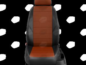 Чехлы экокожа фокс с перфорацией с чёрными боковинами и спинкой вариант 1 для Nissan Teana 3 № NI19-0603-EC10