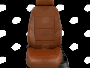 Чехлы экокожа паприка с перфорацией вариант 1 для Nissan Teana 3 № NI19-0603-EC28