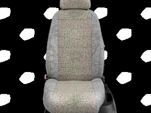 Чехлы лён Шато-блеск вариант 1 для Nissan Teana 3 № NI19-0603-LEN01