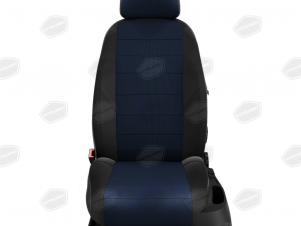 Чехлы жаккард синяя точка вариант 1 для Great Wall Hover H3/H5 № GW09-0302-JK5