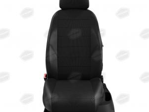 Чехлы жаккард белая точка вариант 2 для Nissan Teana 3 № NI19-0603-KK3