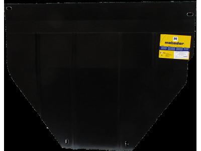 Защита картера и КПП Мотодор сталь 2 мм для Citroen Berlingo