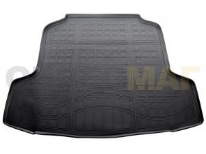 Коврик в багажник Norplast полиуретан чёрный на седан для Nissan Teana № NPA00-T61-712