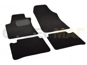 Коврики в салон Norplast текстиль чёрные с подпятником для Nissan Teana № NPA00-VTe610-711a