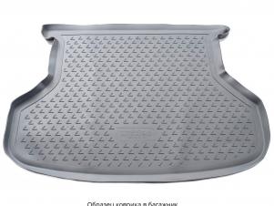 Коврик в багажник Norplast серый на седан для Lada Priora № NPL-P-94-55-G