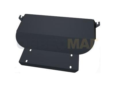 Защита картера и КПП Автоброня для 1,1 и 1,3 сталь 2 мм для Chery QQ6