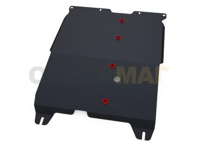 Защита картера и КПП Автоброня для 2,0 сталь 2 мм для Chery CrossEastar