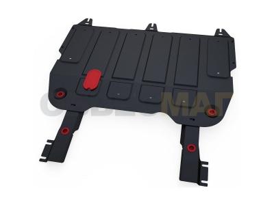 Защита картера и КПП Автоброня для 1,6 сталь 2 мм для Chery Arrizo 7 2014-2019