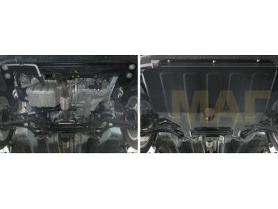 Защита картера и КПП Автоброня для 1,5 сталь 2 мм для Chery Tiggo 2 2017-2019