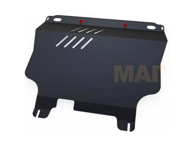 Защита картера и КПП Автоброня увеличенная для 1,3 и 1,5 МКПП сталь 2 мм для Chevrolet Lanos/ZAZ Chance