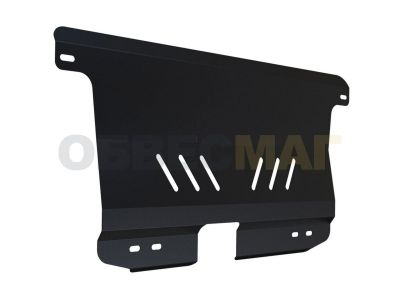 Защита картера и КПП Автоброня для 0,8 и 1,0 сталь 2 мм для Chevrolet Spark 2005-2010