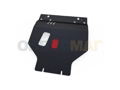 Защита картера и КПП Автоброня увеличенная сталь 2 мм для Daewoo Nexia
