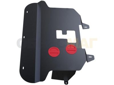 Защита картера и КПП Автоброня для 1,4 сталь 2 мм для Fiat Doblo 2006-2015