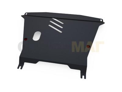 Защита картера и КПП Автоброня для 1,1 и 1,2 сталь 2 мм для Fiat Panda 2003-2012