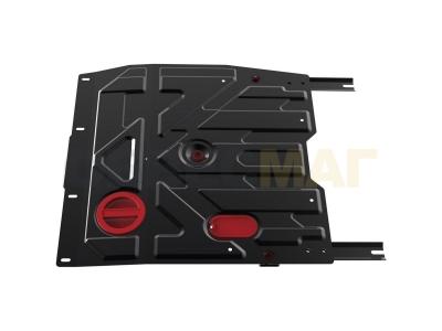 Защита картера и КПП Автоброня для 1,6 сталь 2 мм для Suzuki SX4/Fiat Sedici