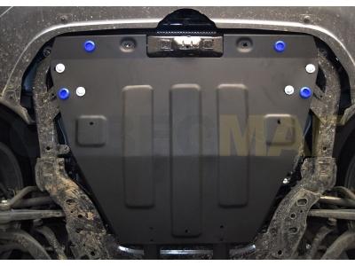 Защита картера и КПП Автоброня для 1,6 и 2,0 сталь 2 мм для FAW Besturn B50/X80 2012-2016
