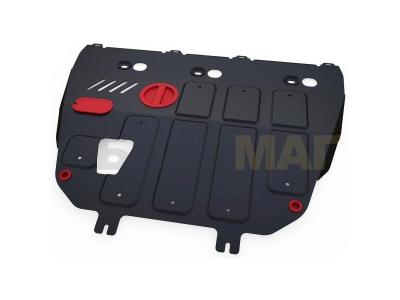 Защита картера и КПП Автоброня сталь 2 мм для Dongfeng S30/H30 Cross 2011-2019