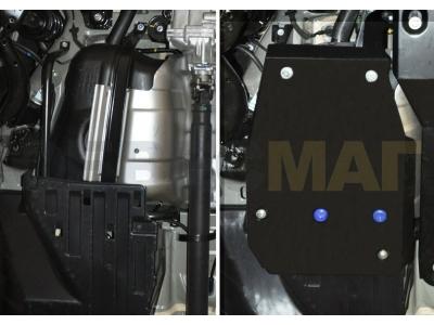 Защита топливного бака Rival для 2,0 сталь 2 мм для Honda CR-V 2012-2017