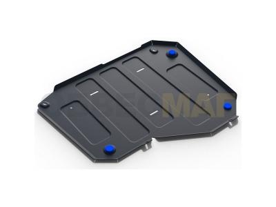 Защита топливного бака Rival для 1,6 и 2,0 сталь 2 мм на передний привод для Chery Tiggo 3/Tiggo 5/Lifan X70 2014-2019