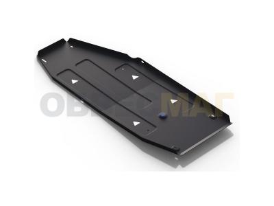 Защита топливного бака Rival для 1,8 АКПП сталь 2 мм для Changan CS75