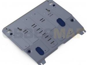 Защита картера и КПП Rival для 2,5 и 3,5 алюминий 4 мм для Nissan Teana № 333.4145.1