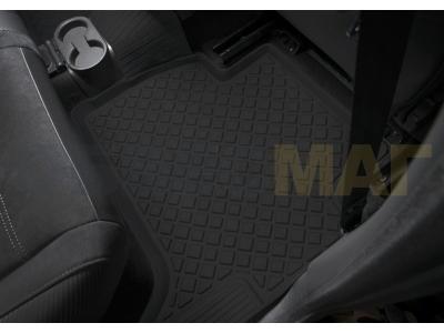 Коврики салона Rival литьевые 5 штук для Volkswagen Amarok 2010-2019