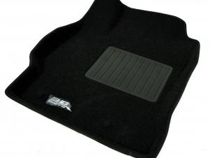 Коврики текстильные Sotra LINER 3D Lux черные