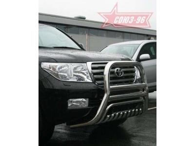 Кенгурятник с защитой, комплект для Toyota Land Cruiser 200