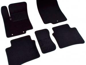 Коврики текстильные SV-Design чёрные для Nissan Teana № 3733-UNF3-15P